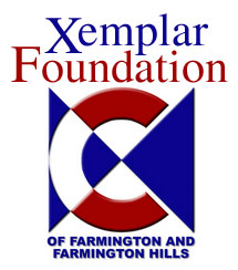 xc foundation logo with text color small